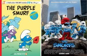 The Smurfs comics film zombies